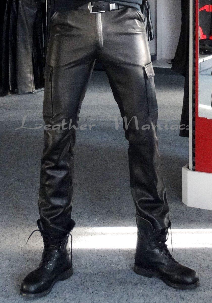 Super Rabatt riesige Auswahl an am besten kaufen BDU leather trousers - cargo style