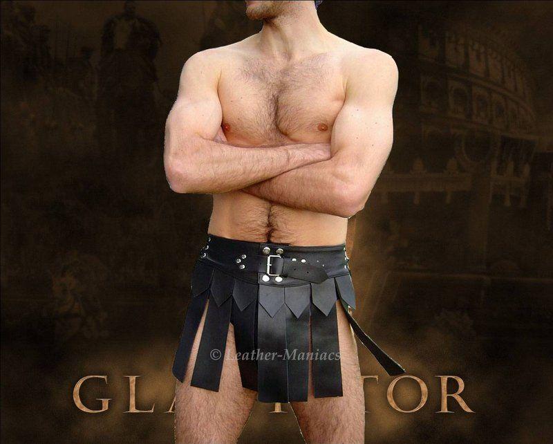 b1a2630861c Gladiator-Rock wie Lendenschurz aus echtem Leder - Leather Maniacs