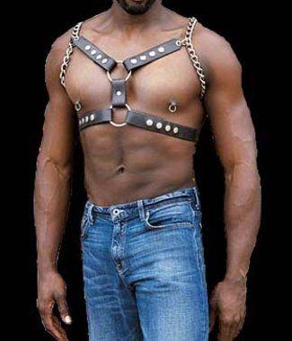 Bondage Bekleidung Erotik Lederharness Harness Aus Leder Mit C-ring