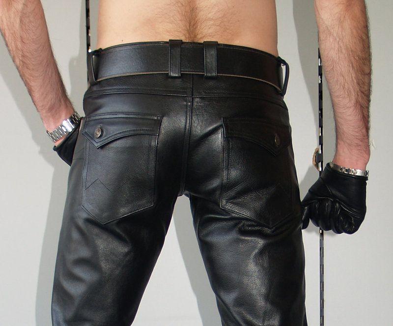 herren lederjeans low waist von leather maniacs leather. Black Bedroom Furniture Sets. Home Design Ideas