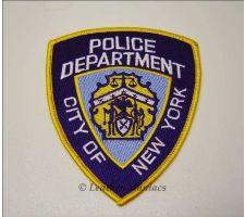 New York Polizei Abzeichen