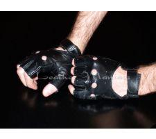 Lederhandschuhe fingerlos
