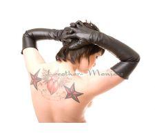 lange Damen Lederhandschuhe