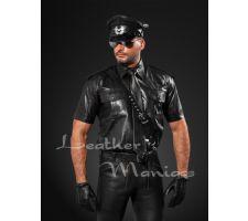 Uniformhemd aus Leder