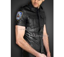 Lederhemd New York Police Uniform