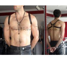 Schulterharness Leder
