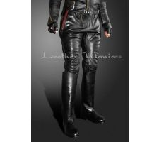 Leather Breeches - Jodhpurs with two zips