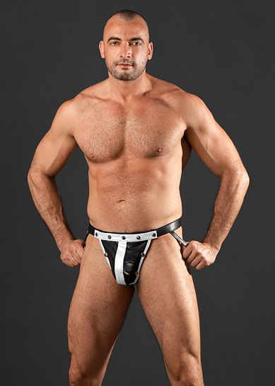 leather jock with codpiece