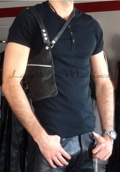 Holstertasche aus Leder