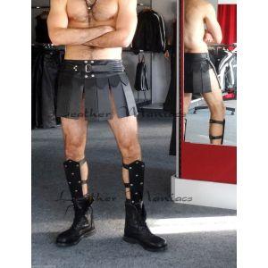 Beinschienen Lederrüstung