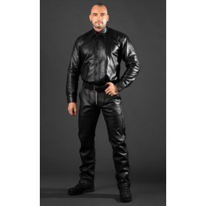 Lederhose Motorrad Racer