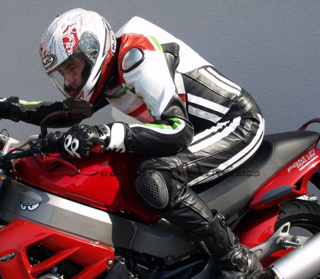 Lederkombi Ducati Style